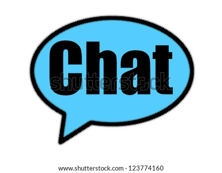 chat sign