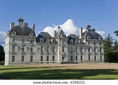 Chateau (castle) Cheverny, Loire Valley, France.