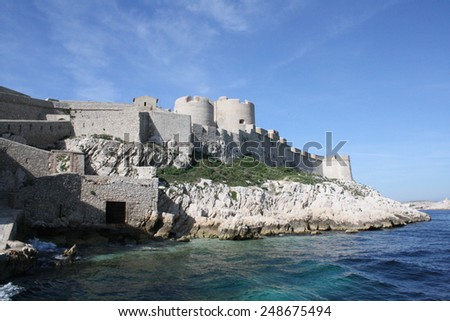 Chateau d'If - stock photo