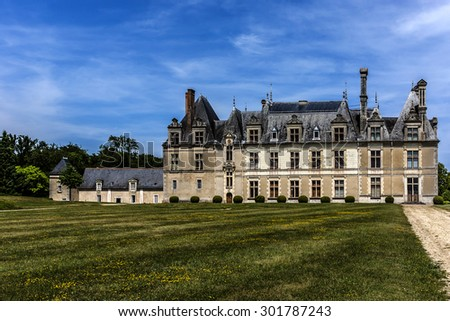 Chateau de Beauregard (1545) is a Renaissance castle in Loire Valley in France. It is located on territory of commune of Cellettes, a little south of city of Blois.