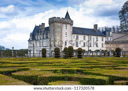 Chateau de Villandry is a castle-palace located in Villandry, in department of Indre-et-Loire, France.