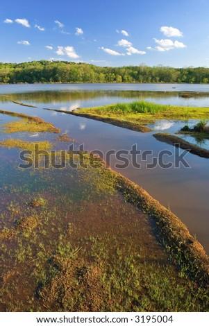 Chattahoochee River - stock photo