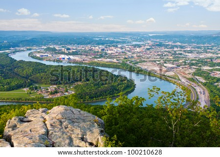 Chattanooga, Tennessee - stock photo