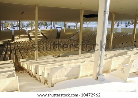 Chautauqua Institution National Historic Landmark amphitheater