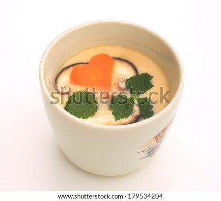 chawanmushi - stock photo