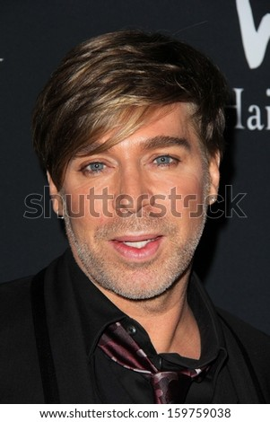 Chaz Dean at the Pink Party 2013, Hangar 8, Santa Monica, CA 10-19-13 - stock photo