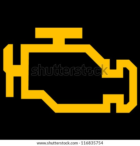 Engine Light Symbol