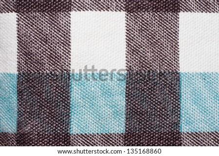 checker textile background - stock photo
