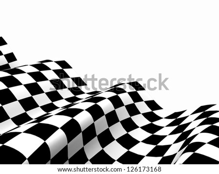 Checkered Flags. Racing flags. Background checkered flag Formula one with space for your text - stock photo