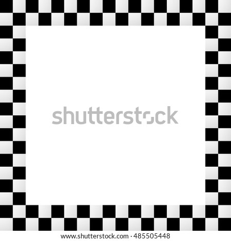 Checkered Border Template. free digital checkerboard scrapbooking ...