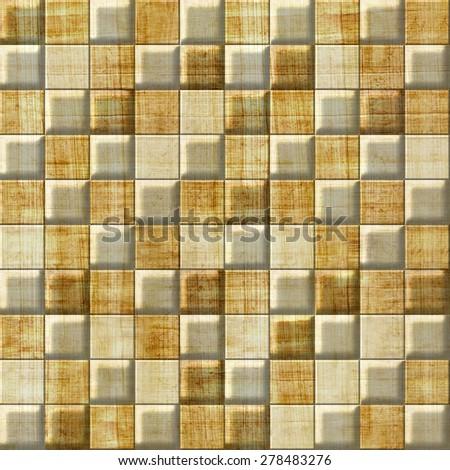Checkered Pattern Decorative Panels Vintage Wallpaper Stock ...