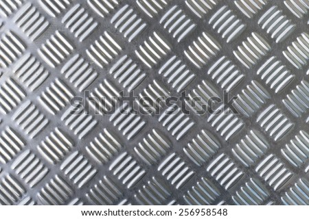 Checkered Plate Background - stock photo