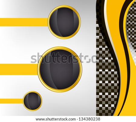 checkered sport racing flag background. jpg version
