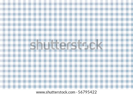 Checkered tablecloth - seamless texture for background - stock photo