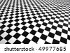 checkered texture - stock photo