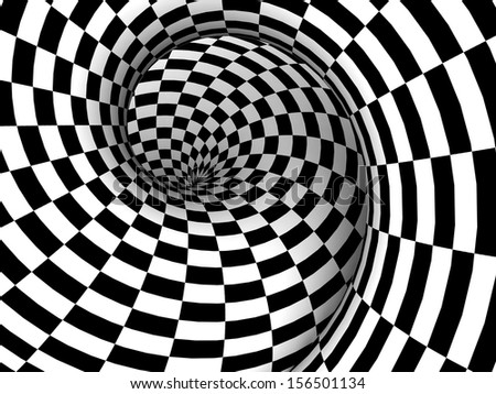 Checkered Texture 3d Background Abstract Design Concept