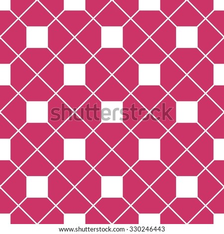 Checkered Tile Pattern Or Pink And White Wallpaper Background