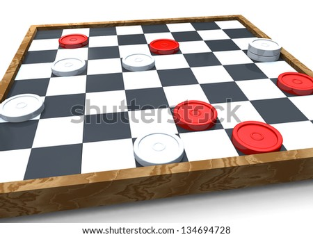 CHECKERS - 3D