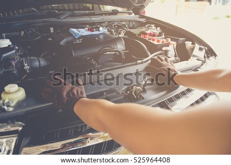 checking of automotive engine  by yourself