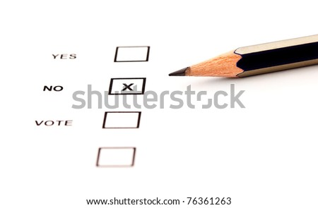 checklist and vote