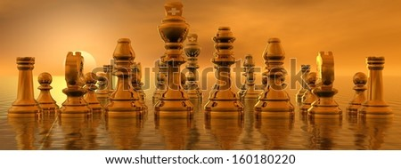 checkmate - stock photo