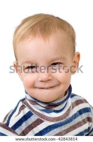 Cheerful child - stock photo
