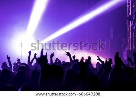 Crowd Silhouettes Stock Images, Royalty-Free Images ...