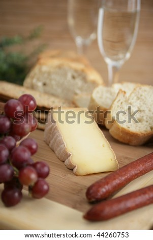 Cheese and sausage