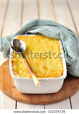 Cheese Bake - stock photo