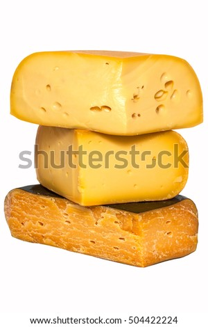 Cheese named Gouda. Very good cheese. Popular delicacy.