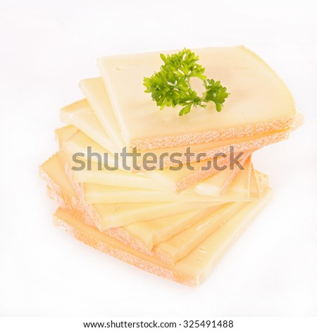 cheese raclette - stock photo
