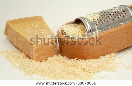 cheese-rub and parmesan