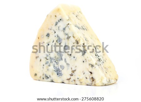 Cheese with a mold - stock photo