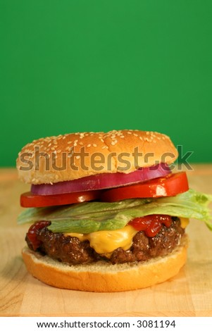 Cheeseburger with room for Copy