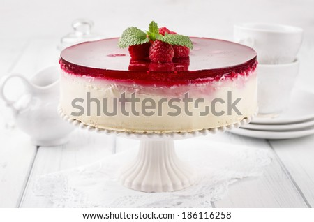 cheesecake - stock photo