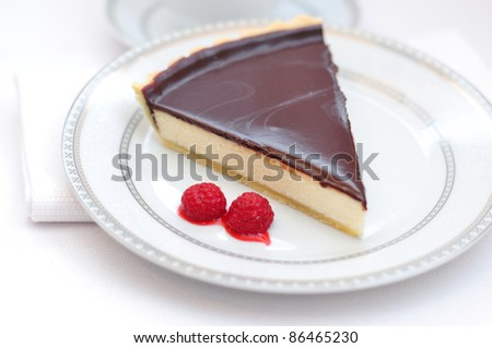 cheesecake - stock photo