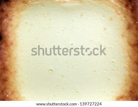 cheesecake background or organic cake texture  - stock photo