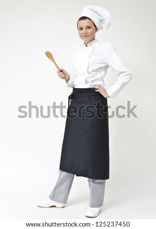 Chef baker or cook - stock photo