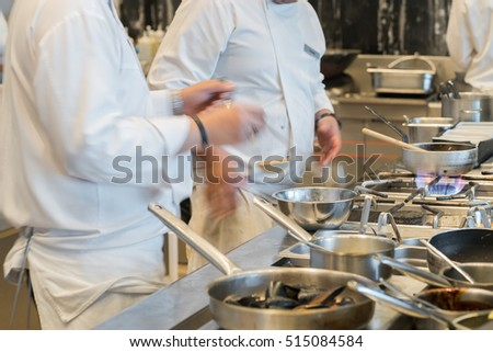 Busy Restaurant Kitchen busy restaurant kitchen stock images, royalty-free images
