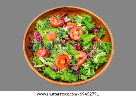 Chef Salad, Clipping Path