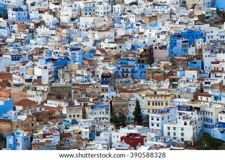 Chefchaouen, morocco - stock photo