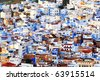 Chefchaouen Old Medina, Morocco, Africa - stock photo