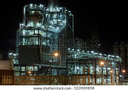 Chemical device - stock photo