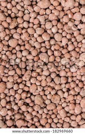 Chemical fertilizers to boost  agricultural  outputs - stock photo