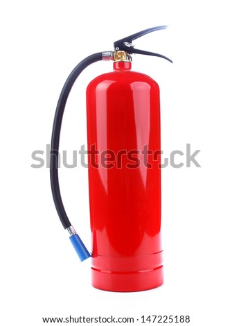 Chemical fire extinguisher - stock photo