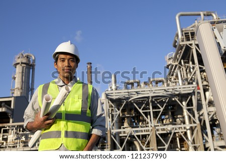chemical industrial engineer with large oil refinery background