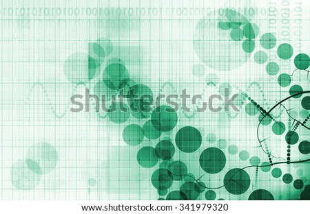 Chemical Science and Discovery as a Futuristic Concept - stock photo