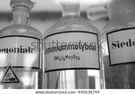 chemicals - stock photo