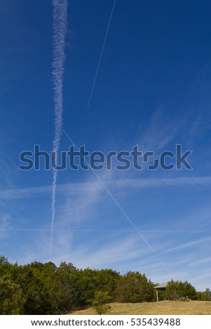 chemtrails or contrails depends on your point of view