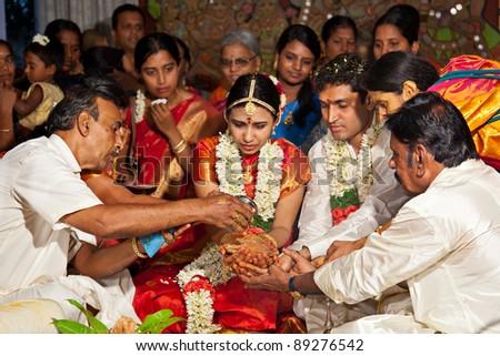 Celebrity wearing mangal sutra
